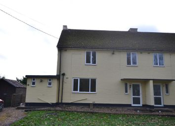 Thumbnail 3 bed semi-detached house to rent in Oulsham Drove, Feltwell, Thetford