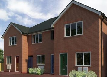Thumbnail 2 bedroom town house for sale in Lower Ash Road, Kidsgrove, Stoke-On-Trent