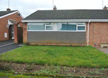Thumbnail 2 bed semi-detached bungalow for sale in Ellesmere Close, Hucclecote, Gloucester