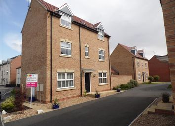 Thumbnail 5 bed detached house for sale in Hadrians Walk, North Hykeham, Lincoln