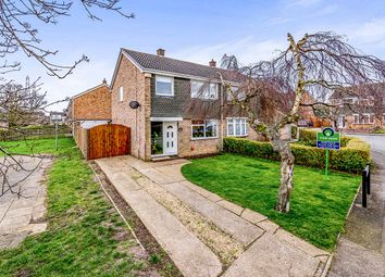Thumbnail 3 bed semi-detached house for sale in Wansbeck Road, Bedford