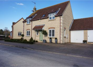 Thumbnail 3 bed detached house for sale in St Giles Close, Peterborough