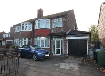 Thumbnail 3 bed semi-detached house for sale in Lostock Road, Urmston, Manchester