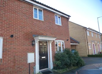 Thumbnail 3 bedroom end terrace house for sale in Fortress Road, Carbrooke, Thetford