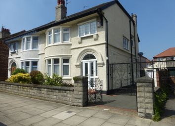Thumbnail 3 bed semi-detached house for sale in Lymington Road, Wallasey
