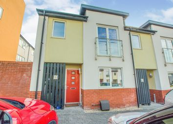 Thumbnail 3 bed end terrace house for sale in Wain Close, Penarth