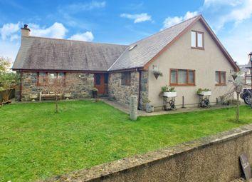Thumbnail 5 bed detached bungalow for sale in Morfa Bychan, Porthmadog, Gwynedd.