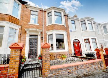 Thumbnail 3 bed terraced house for sale in Hubert Road, Newport