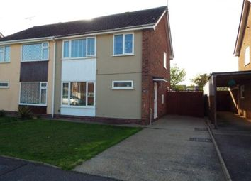 Thumbnail 3 bedroom semi-detached house for sale in Kersey Drive, Clacton-On-Sea