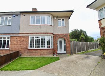 Thumbnail 3 bed semi-detached house for sale in Eyre Close, Romford