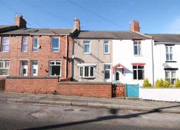 Thumbnail 3 bedroom terraced house for sale in East View, Sherburn Hill, County Durham