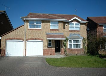 Thumbnail 4 bed detached house for sale in Horton Drive, Cramlington, Northumberland