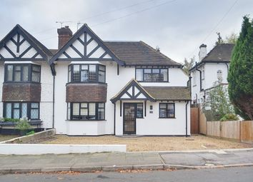 Thumbnail 4 bed semi-detached house for sale in Kingsway, Petts Wood, Orpington