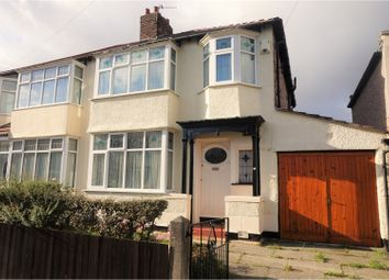 Thumbnail 3 bed semi-detached house for sale in Valescourt Road, Liverpool