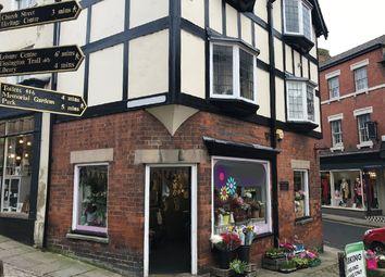 Thumbnail Retail premises for sale in 7 St Johns Street, Ashbourne