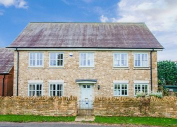 Thumbnail 4 bed detached house for sale in Marston Road, Greatworth, Banbury