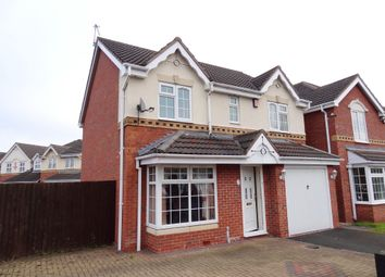 Thumbnail 4 bed detached house to rent in Constantine Way, Bilston