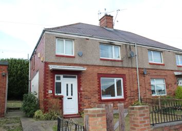 Thumbnail 3 bed semi-detached house to rent in Grasmere Road, Ferryhill