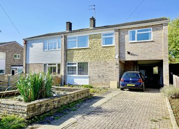 Thumbnail 4 bed semi-detached house for sale in High Street, Buckden, Cambridgeshire.