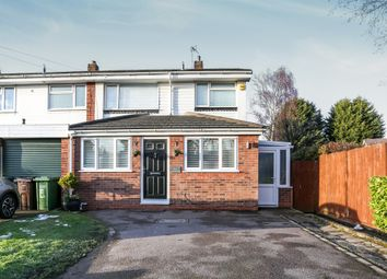 Thumbnail 4 bedroom semi-detached house for sale in Brookfield Way, Solihull