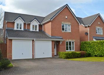 Thumbnail 5 bed detached house for sale in The Lees, Burtonwood Road, Great Sankey, Warrington