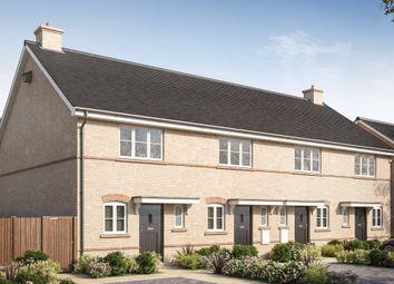 Thumbnail 2 bed terraced house for sale in Barn Road, Longwick, Buckinghamshire