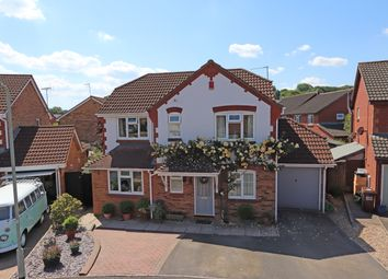 Thumbnail 4 bed detached house for sale in Clover Drive, Cullompton