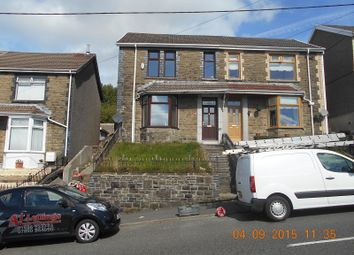 Thumbnail 3 bed semi-detached house to rent in Bryn Terrace, Caerau, Maesteg