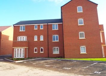 Thumbnail 2 bed flat to rent in Anglian Way, Stoke