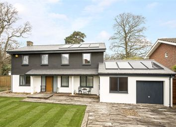 Thumbnail 4 bed detached house for sale in Nightingale Close, Cobham, Surrey