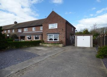 Thumbnail 3 bedroom end terrace house for sale in Trent Avenue, Willington, Derby, Derbyshire