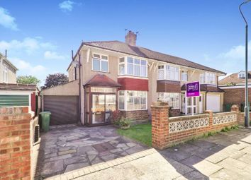 Thumbnail 3 bed semi-detached house for sale in Pembury Road, Bexleyheath