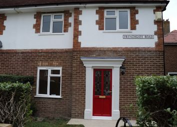 Thumbnail 2 bed semi-detached house to rent in Frenchgate Road, Hampden Park, Eastbourne