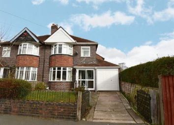 Thumbnail 3 bedroom semi-detached house to rent in Sandgate Road, Hall Green, Birmingham