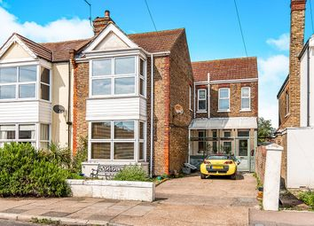 Thumbnail 4 bed semi-detached house for sale in Seafield Road, Broadstairs