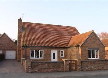 Thumbnail Detached bungalow to rent in The Wolds, Waddingham, Gainsborough