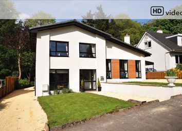 Thumbnail 4 bed detached house for sale in Woodland Gardens, Carmunnock, Clarkston, Glasgow