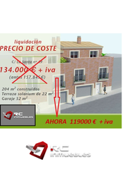 Thumbnail 4 bed terraced house for sale in Tibi, Alicante, Spain
