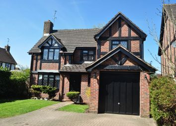 Thumbnail 4 bed detached house to rent in Lowry Close, College Town, Sandhurst