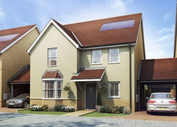 "Thumbnail 4 bed detached house for sale in ""Wroxham"" at Butts Lane, Stanford-Le-Hope"