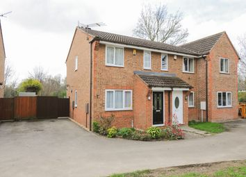 Thumbnail 2 bed semi-detached house for sale in Alpine Grove, Hollingwood, Chesterfield