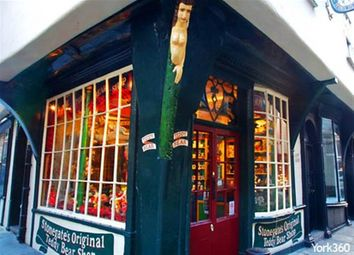 Thumbnail Retail premises for sale in Gift Shop And Tea Room YO1, York