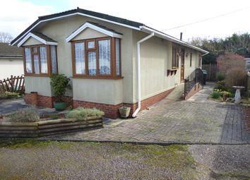 Thumbnail 2 bed mobile/park home for sale in Wessex Park, Bullington Lane, Sutton Scotney, Winchester, Hampshire