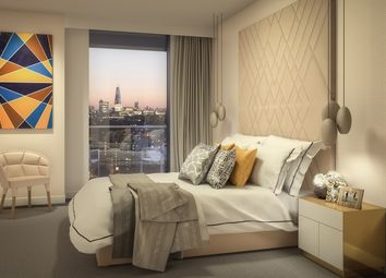 Thumbnail 1 bedroom flat for sale in Lighterman's Road, Maine Tower, Harbour Central, London