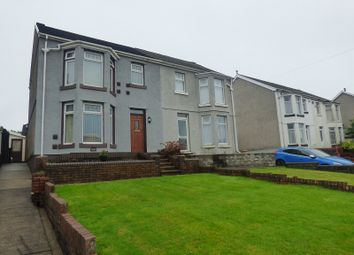 Thumbnail 3 bed semi-detached house for sale in Crymlyn Road, Skewen, Neath.