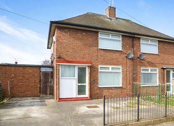Thumbnail 2 bedroom semi-detached house for sale in Barham Road, Bilton Grange, Hull