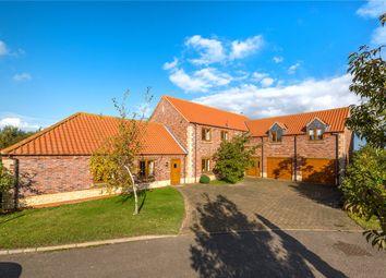 Thumbnail 5 bed detached house for sale in Mareham Lane Farm House, Mareham Lane, Sleaford, Lincolnshire