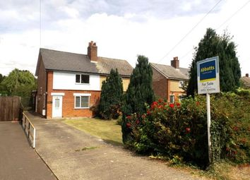 Thumbnail 3 bed semi-detached house for sale in Norwich Road, Besthorpe, Attleborough