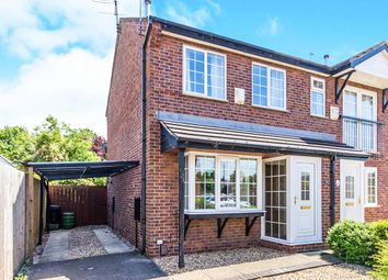 Thumbnail 2 bed semi-detached house for sale in Roman Wharf, Lincoln