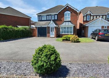 Thumbnail 4 bedroom detached house for sale in Sterling Way, Nuneaton, Warwickshire